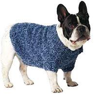 manteau chient tricot