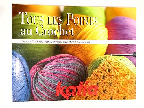 Livre Tous les points au crochet Katia