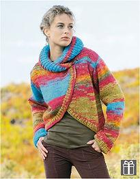 gilet femme manche longue tricot katia