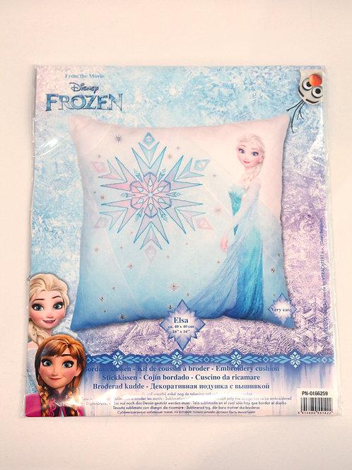 Coussin à broder Disney Elsa La Reine des Neiges