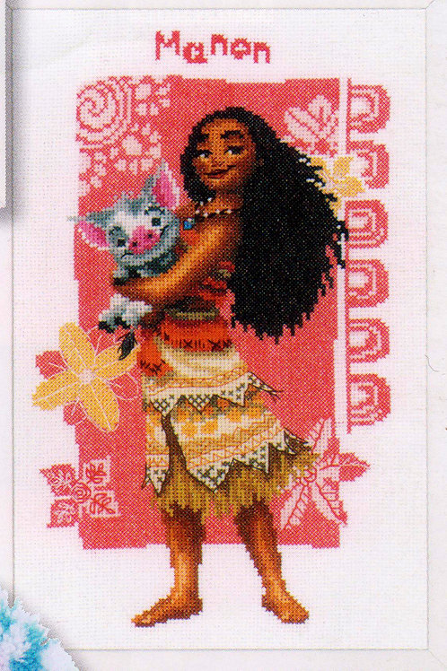 Broderie Point de Croix Disney Vaiana Cross Stitch Disney Moana