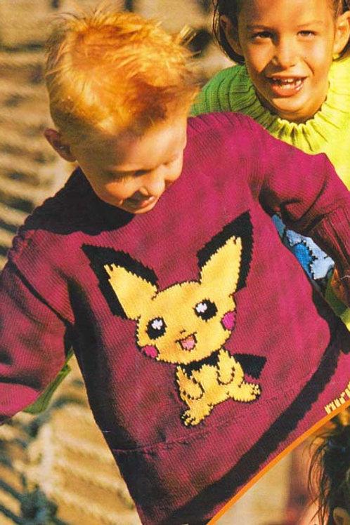 Explication Pull Tricot Pokemon Pichu