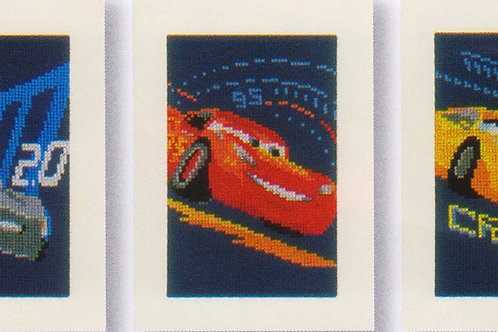 Point de croix Disney Pixar Cars 3 Flash McQueen