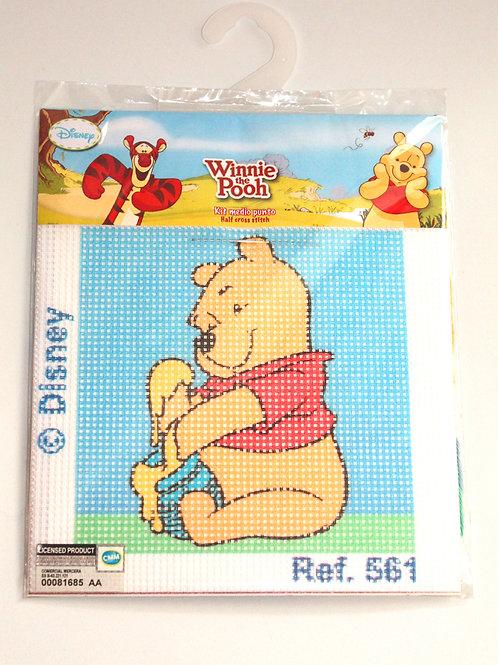 Canevas pour enfant Disney Winnie et le pot de miel