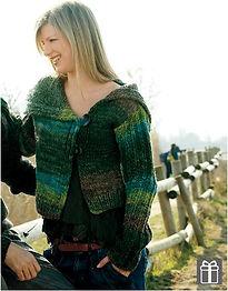 gilet court femme tricot veste manche longue grand col katia