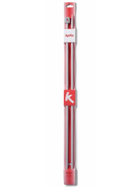 Aiguilles à tricoter en aluminium 40cm Katia
