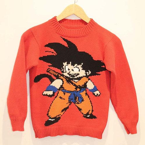 Pull Enfant Dragon Ball Z Goku
