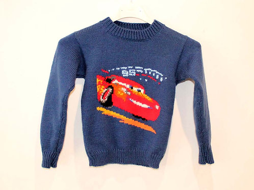 Pull enfant Flash McQueen Cars 3