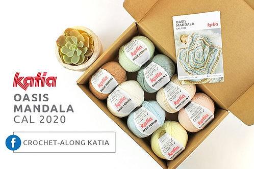 Kit Katia Couverture Cal Oasis Mandala