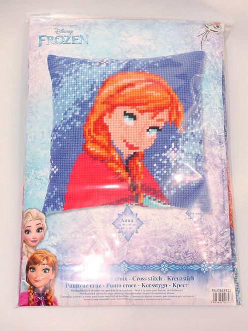 Coussin Canevas Disney Anna La Reine des Neiges