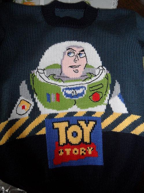 Pull Enfant Disney Toy Story Buzz l'éclair