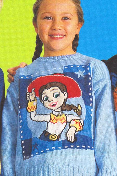 Explication Pull Tricot Disney Pixar Jessie Cowgirl Toy Story
