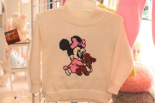 Pull Brassière Disney Layette Bébé Minnie