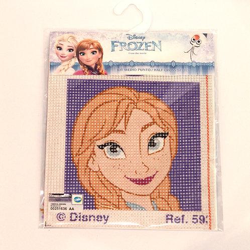 Canevas pour enfants Disney Anna La Reine des Neiges