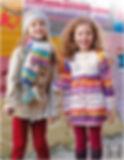 bonnet péruvien enfant tricot katia