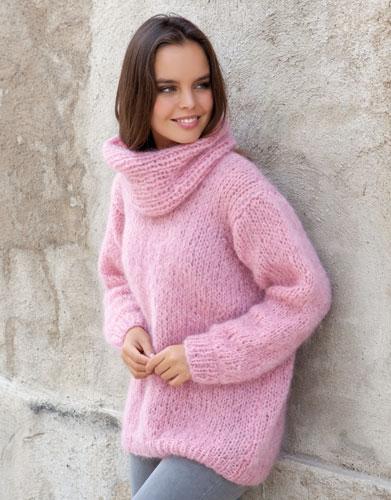 patron tricoter tricot crochet femme pull automne hiver katia mohair alpaga angora