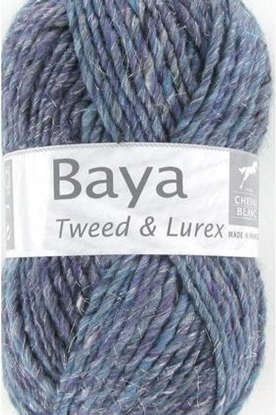 Laine Baya Tweed et Lurex Cheval Blanc
