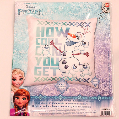 Coussin à broder Disney Olaf La Reine des Neiges