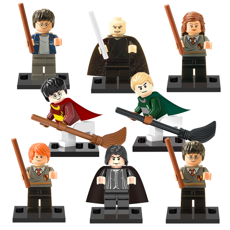 in-stock-Harry-Potter-building-blocks-toys-Hermione-Malfoy-Ron-Lord-Voldemort-Snape-model-bricks-toy