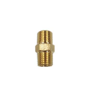 Hex Nipple (Brass)