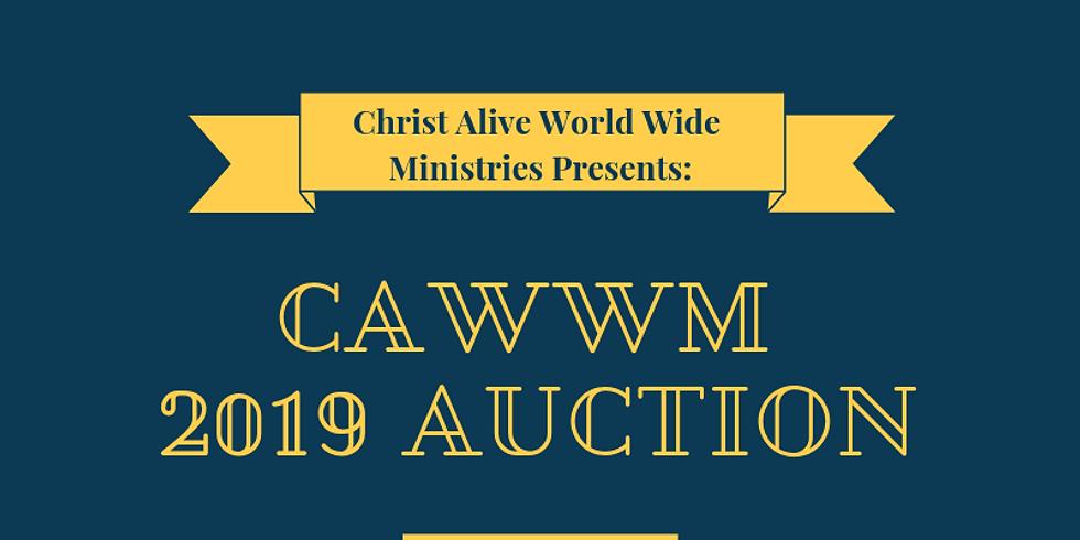 CAWWM 2019 Auction