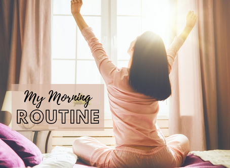 My 2020 Morning Routine