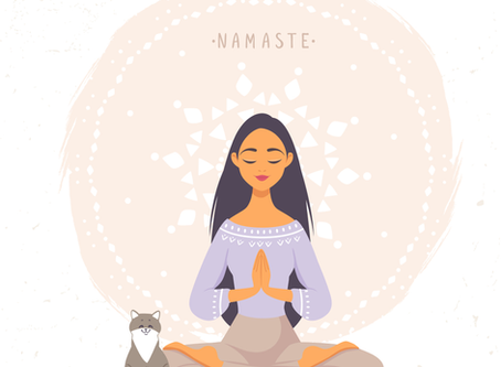 """Say it with me """"NAMASTE"""""""