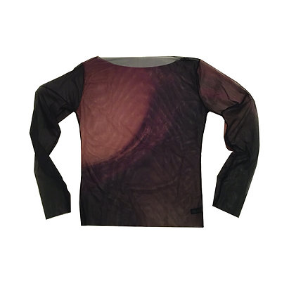CLAN LONG SLEEVE SHEER TOP