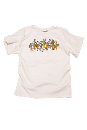 BARRAGAN T-SHIRT FLOWER PRINT BACK