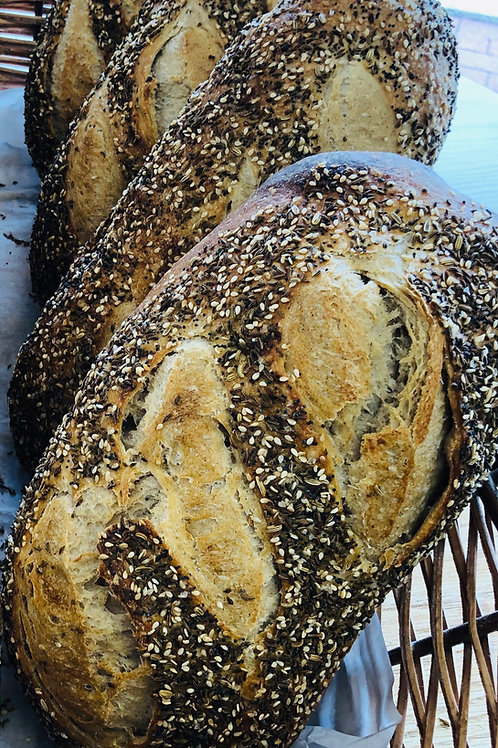 Seeded Sourdough Rye