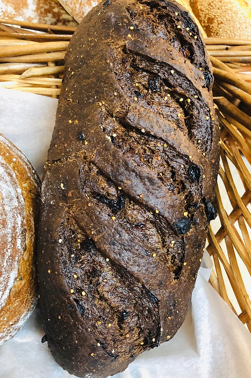 Dark Rye with Raisins