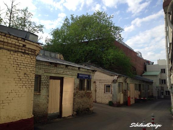 Здание до реконструкции на ул. Новая Басманная 23с3