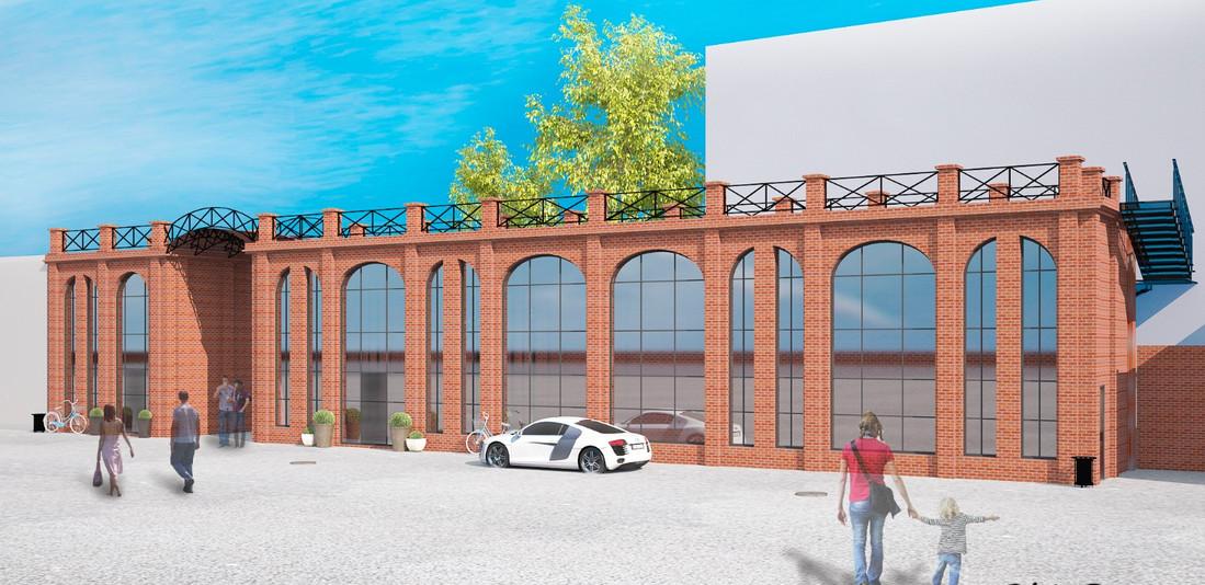 Визуализация здания