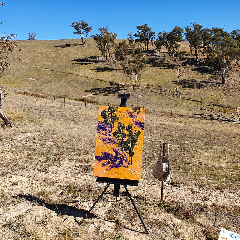 'Plein Air' painting class in Megalong Valley