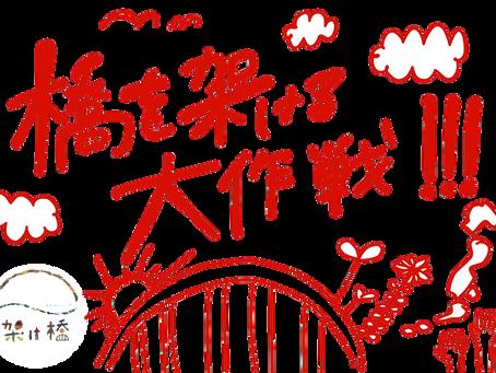 「橋を架ける大作戦」発表!!!!!!