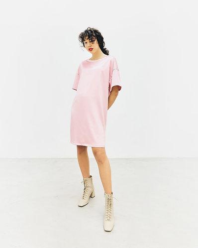 Carrie Dress (powder pink)
