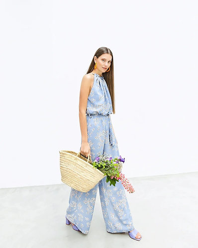 Barbara Overall (baby flowery blue)