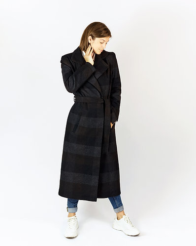 Coat (checked)