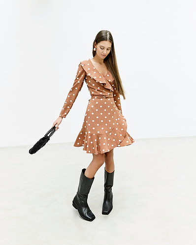Valeria Dress (Polka Dots)