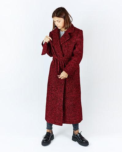Coat (red & black)