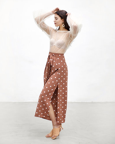 Peekaboo Pants (polka dot)