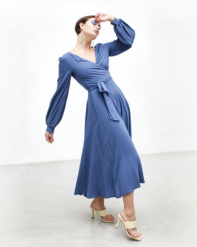 Va va vum Dress (blue)