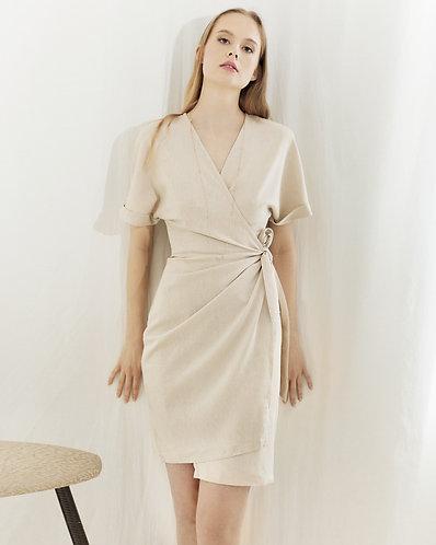 Aiko dress (beige)