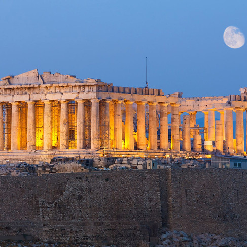 The historical city of Athens