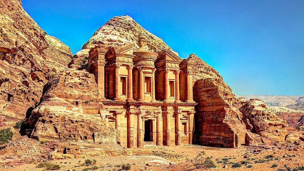 The Ruins of Petra, Jordan