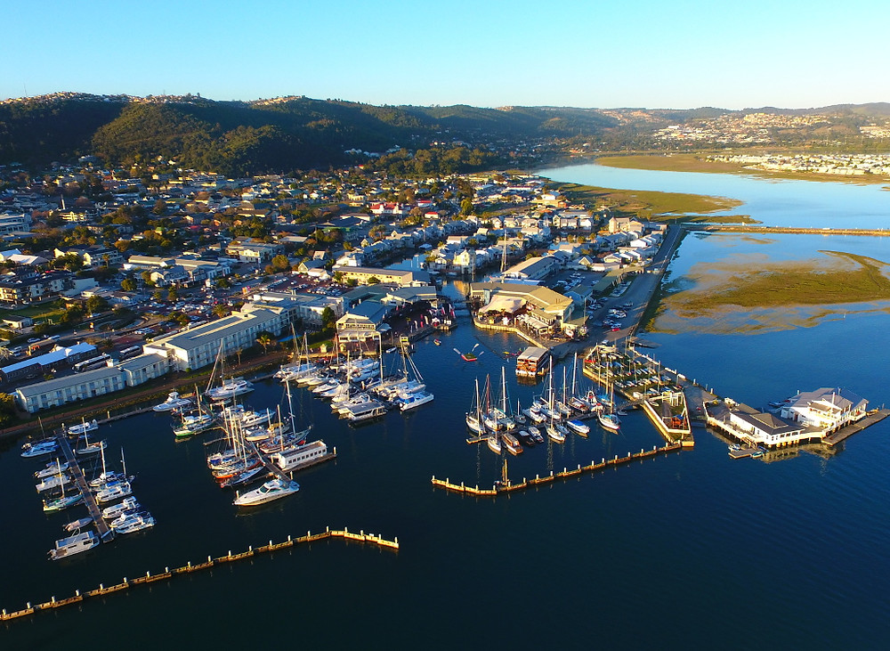 Knysna waterfront, South Africa