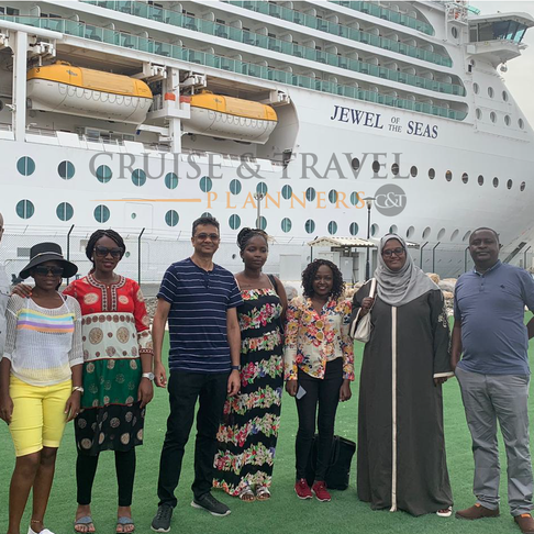 16 Dec 2019 onboard Jewel of the Seas – A first time cruise experience