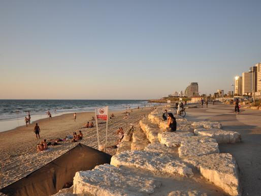 Jaffa Beach,Tel Aviv, Israel