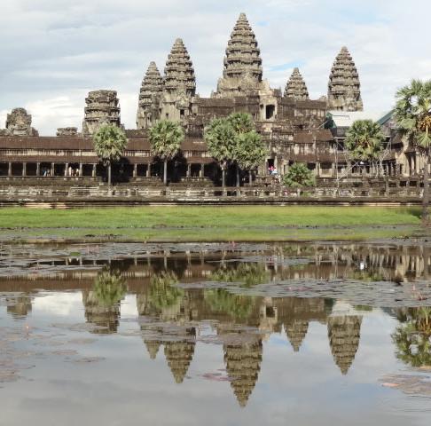 The Magical Sunrise at Angkor Wat