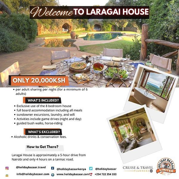 Laragai House, Borana Conservancy, Kenya.